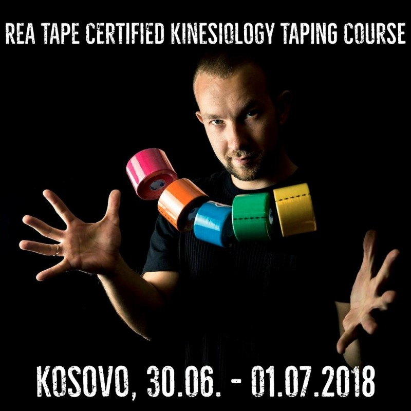 REA TAPE Certified Kinesiology Taping Course Schedule